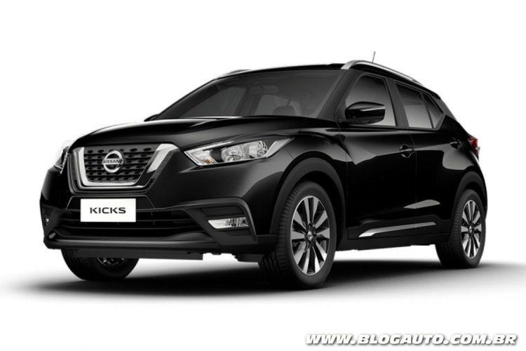 Nissan Kicks Preto Premium