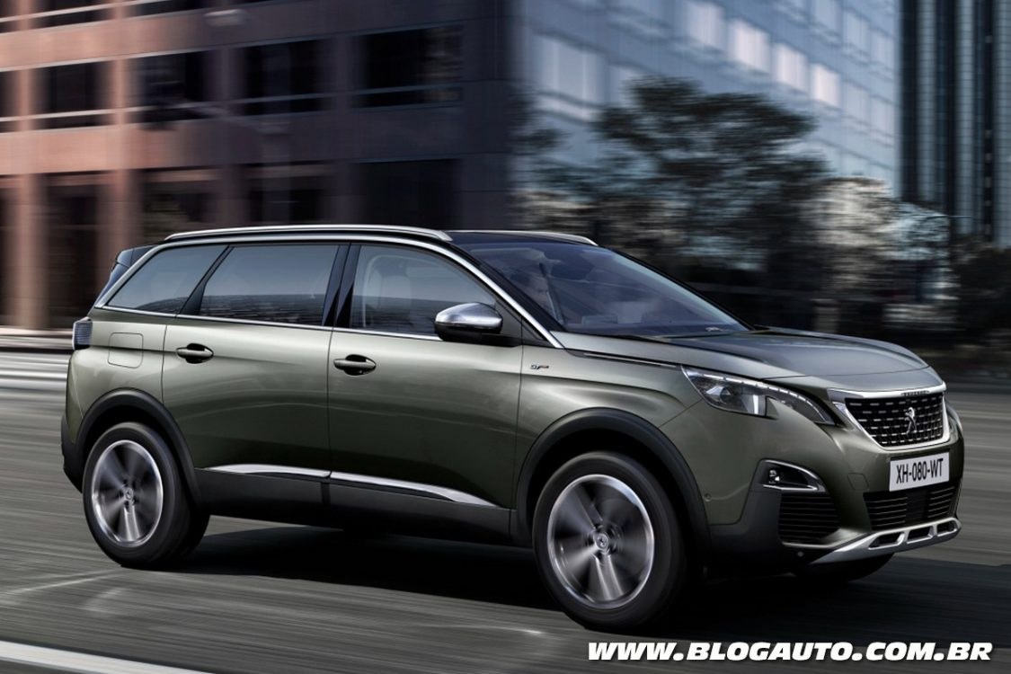peugeot 5008 2017 se transforma em suv de sete lugares. Black Bedroom Furniture Sets. Home Design Ideas