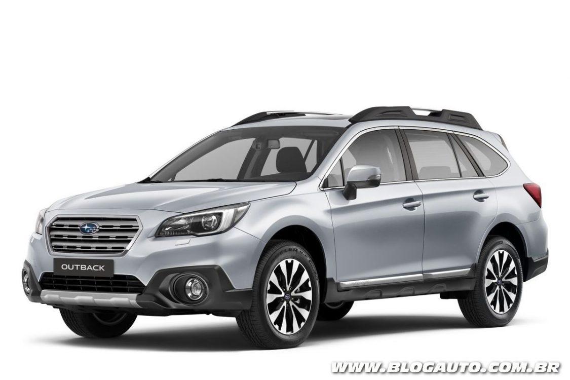 Subaru Outback 2016 estreia mais equipado por R$ 189.990