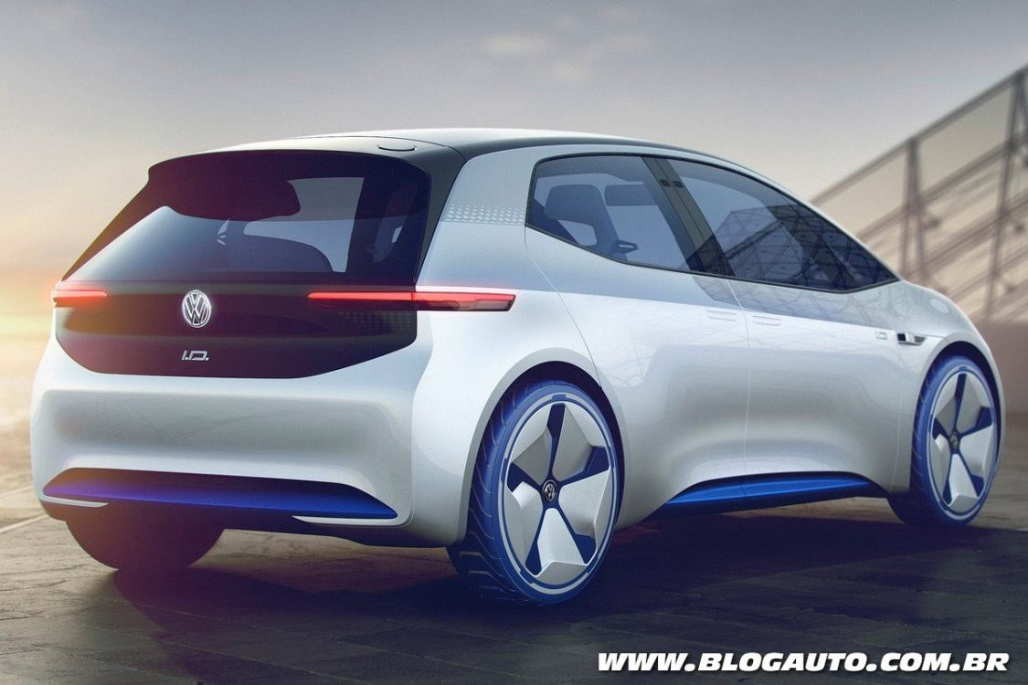 Perfect Volkswagen ID Concept  Apresentado Chega Em 2020  BlogAuto
