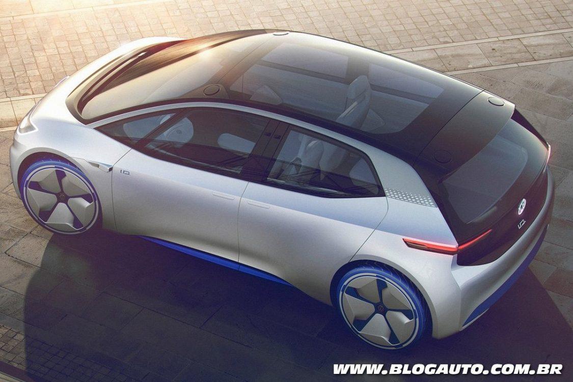 Model Volkswagen ID Concept  Apresentado Chega Em 2020  BlogAuto