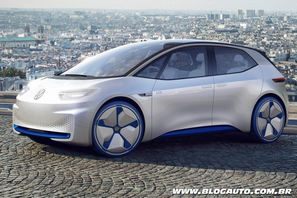 Elegant Volkswagen ID Concept  Apresentado Chega Em 2020  BlogAuto
