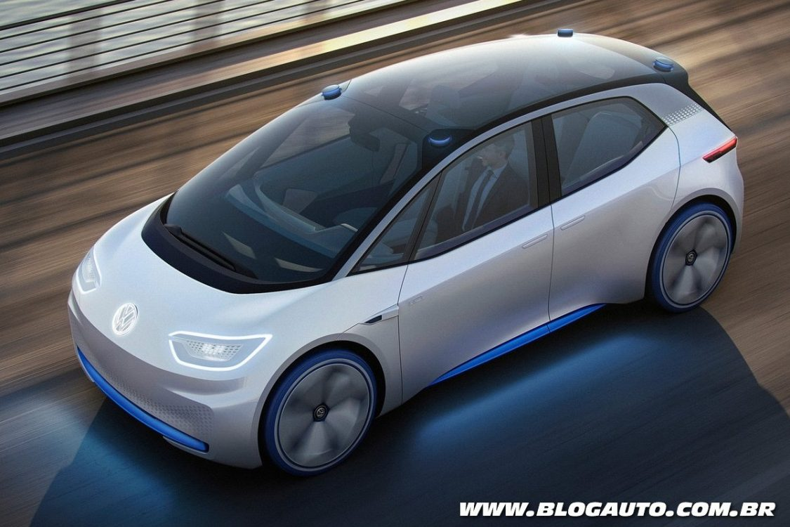 Simple Volkswagen ID Concept  Apresentado Chega Em 2020  BlogAuto