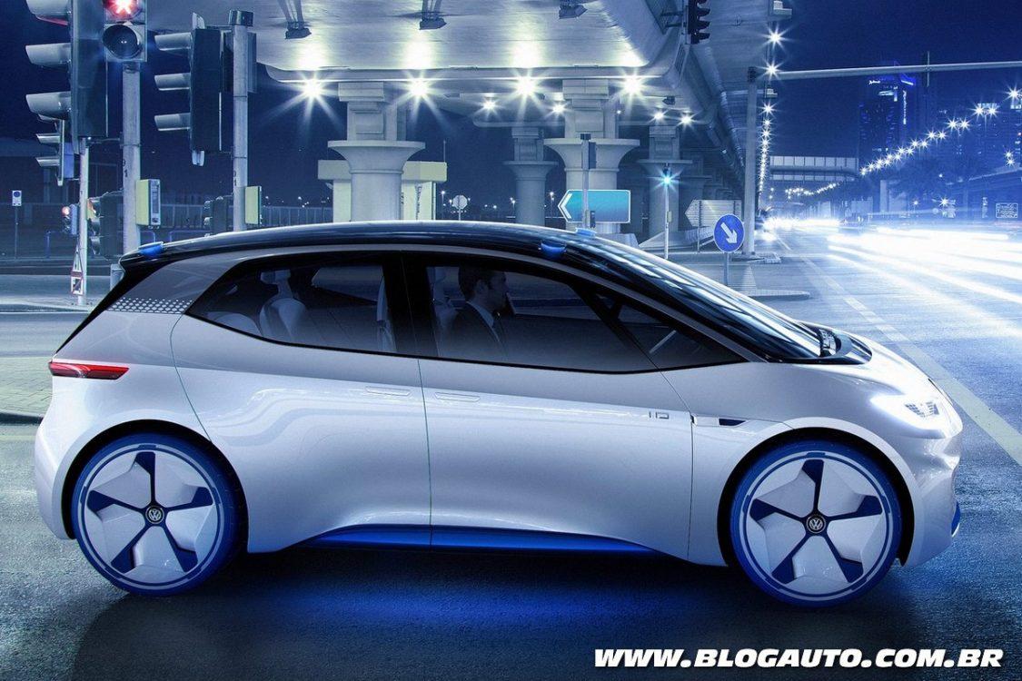 Brilliant Volkswagen ID Concept  Apresentado Chega Em 2020  BlogAuto