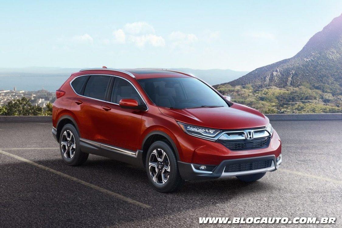 Tabela de preços dos veículos da Honda