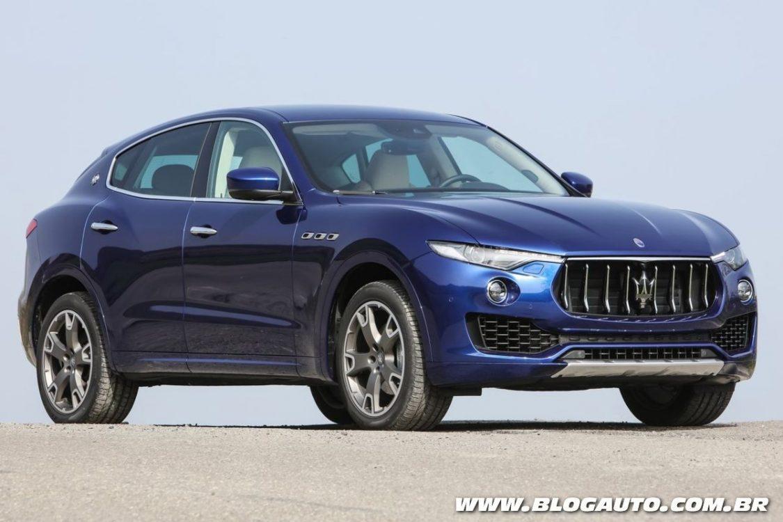 Maserati exibe SUV Levante no Salão do Automóvel