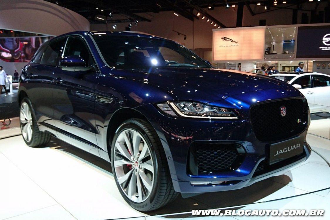 Tabela de preços dos veículos da Jaguar