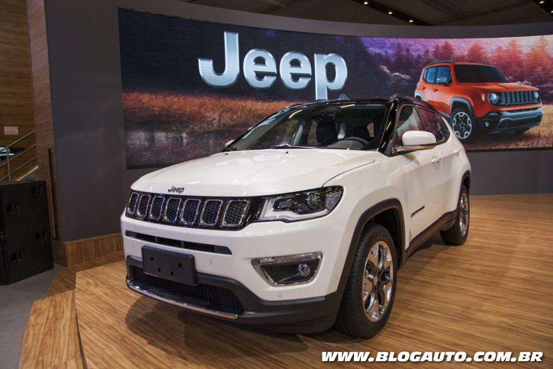 Jeep leva novos crossovers e SUVs ao Salão do Automóvel
