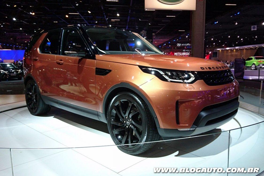 Land Rover e suas atrações no Salão do Automóvel