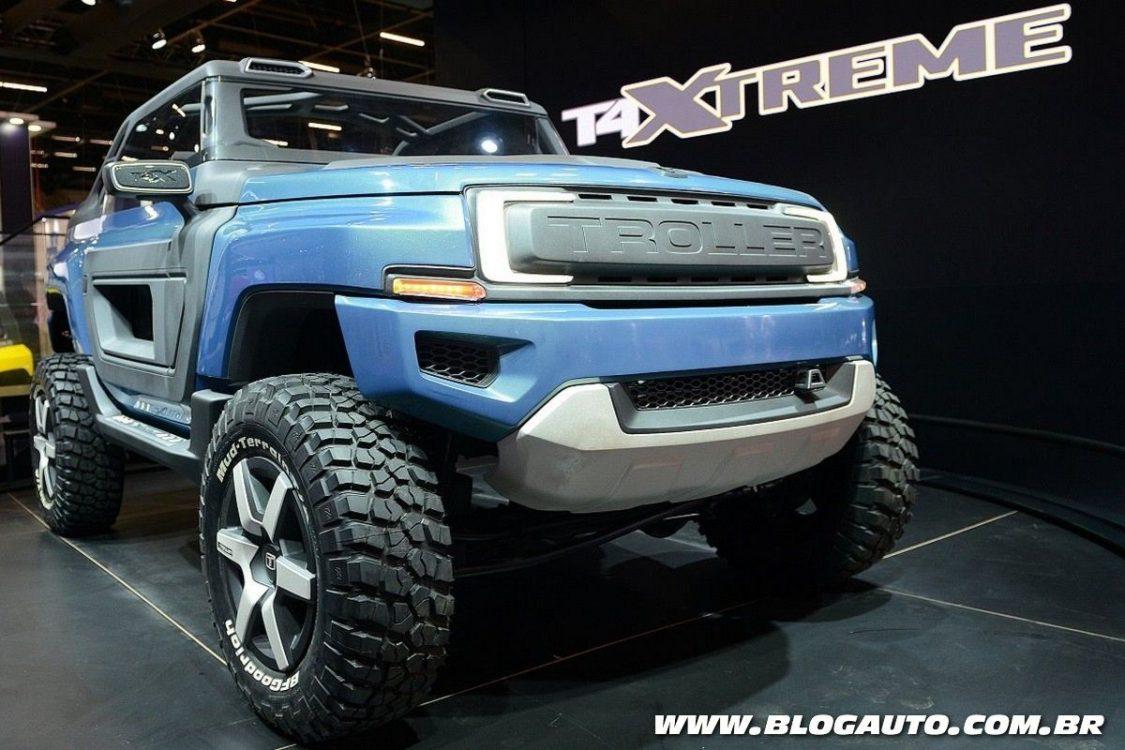Troller mostra versão e conceito do T4 no Salão do Automóvel