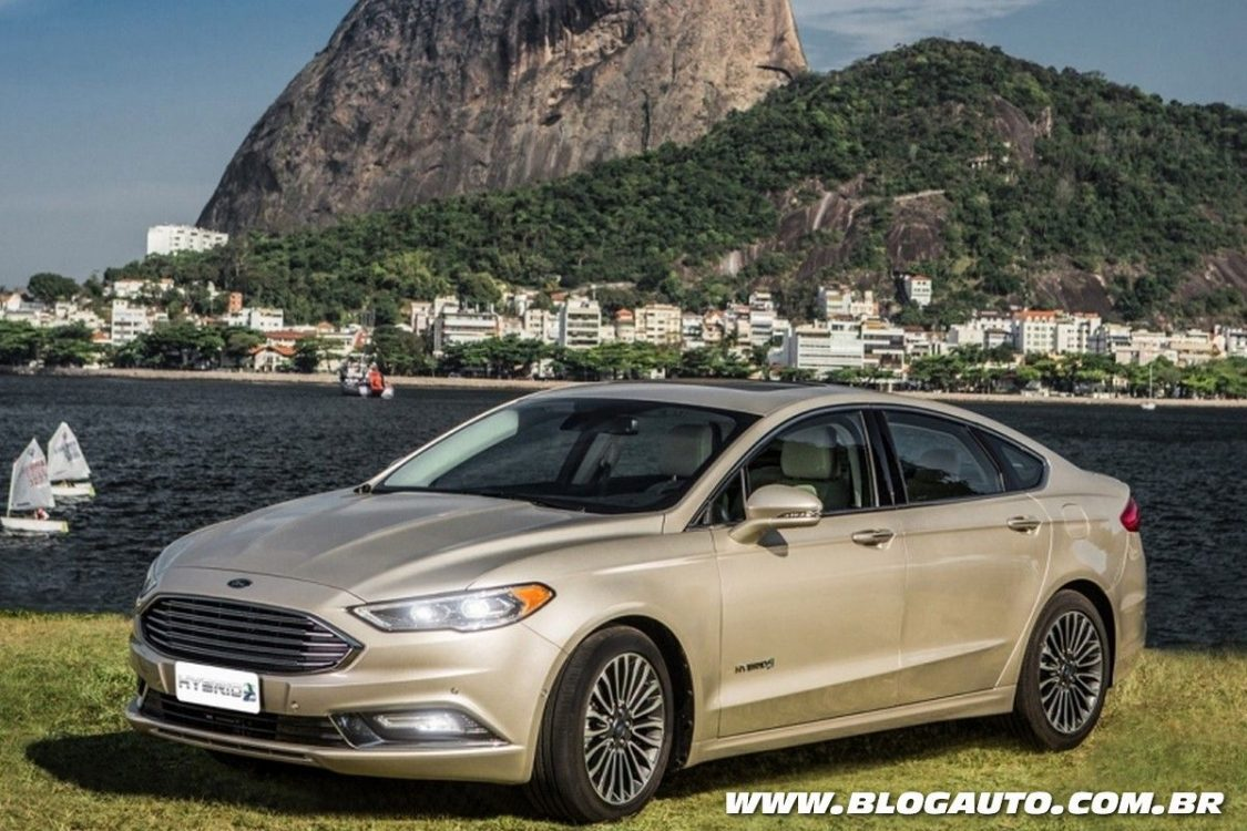 ford fusion hybrid 2017 chega mais moderno ao brasil blogauto. Black Bedroom Furniture Sets. Home Design Ideas