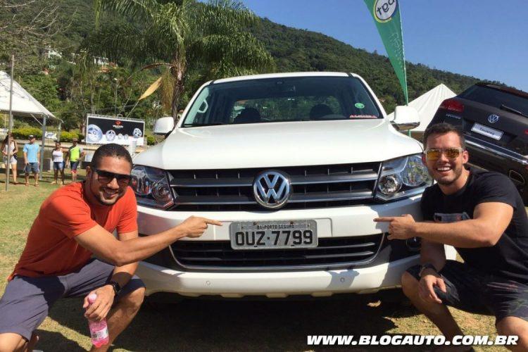 Participante mais distante nacional Amarok – Victor Coelho Fraga e Wanderson Oliveira – Alkaida Preparação Automotiva – Porto Seguro – BA
