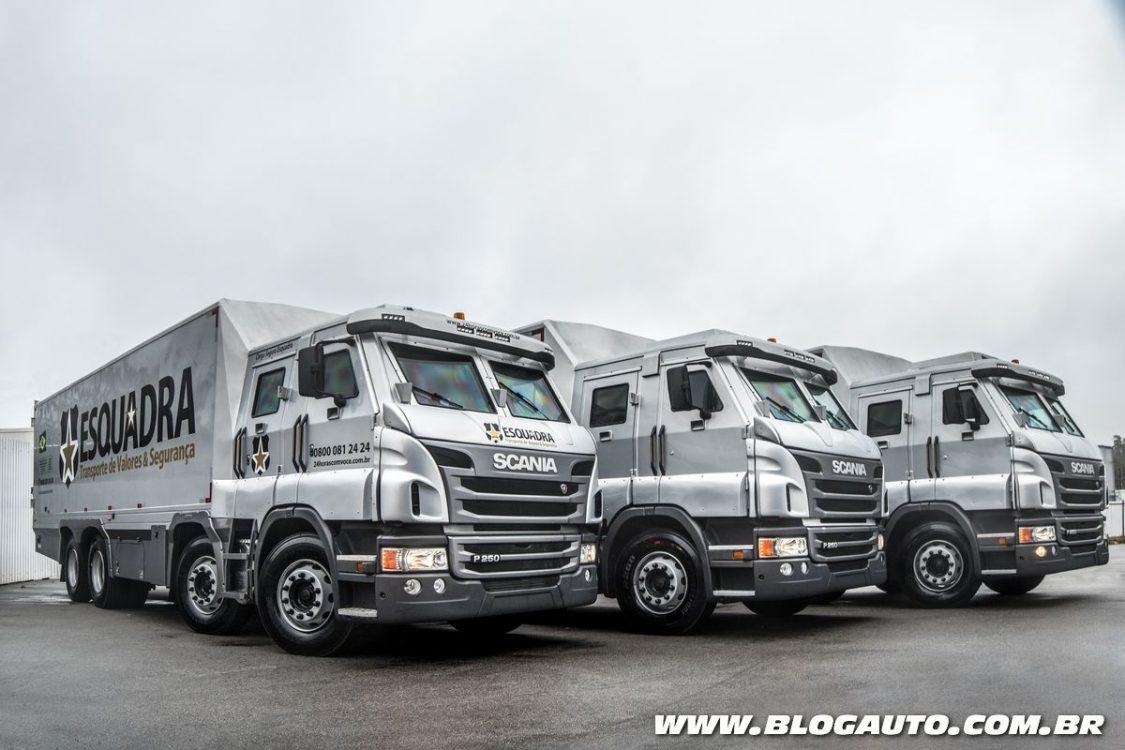 Scania vende blindados para empresa de transporte de valor