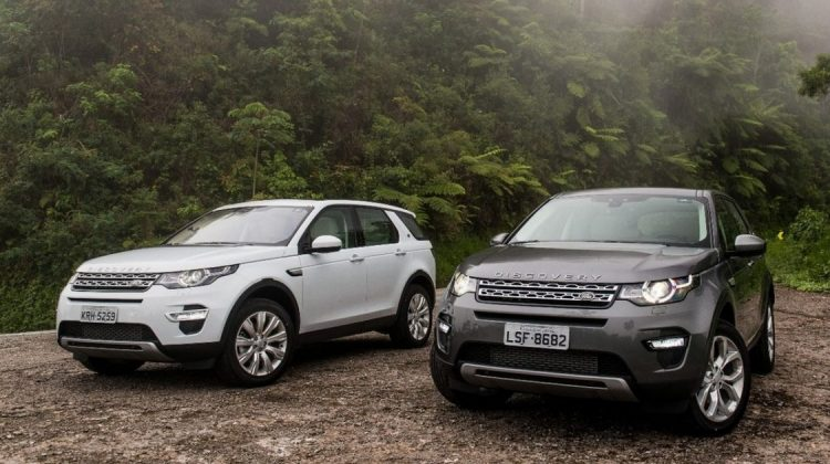 Land Rover Discovery Sport e Range Rover Evoque a diesel