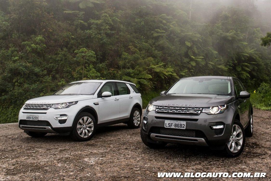 Discovery Sport e Evoque nacionais ganham motor 2.0 a ...