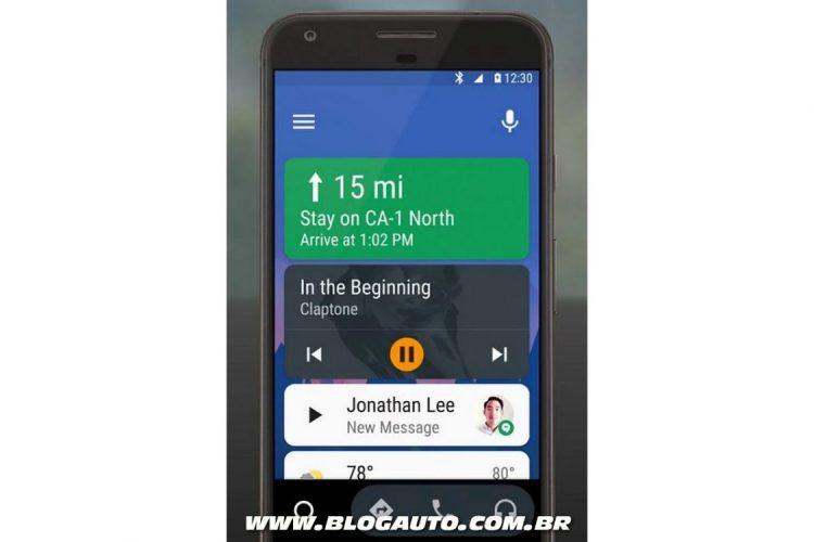 Android Auto para smartphone