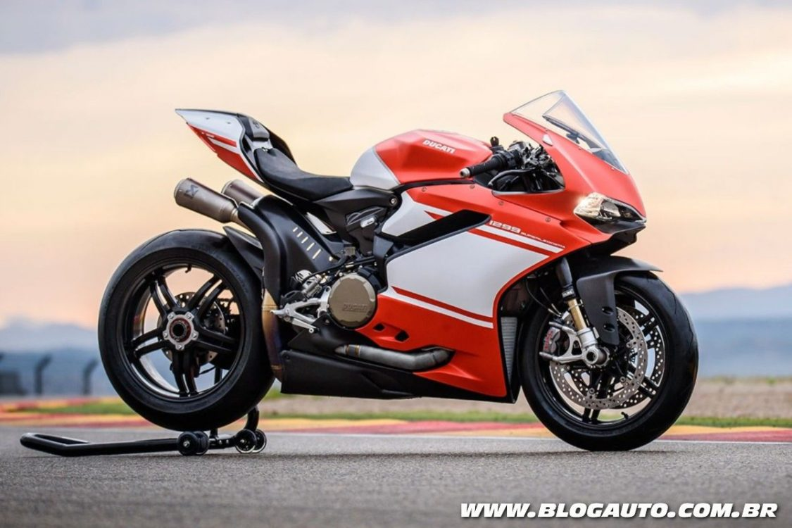 Ducati 1299 Superleggera é a moto mais cara do Brasil