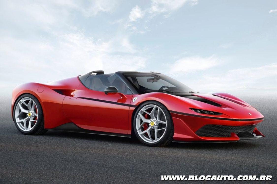 Ferrari J50 marca os 50 anos da fabricante no Japão