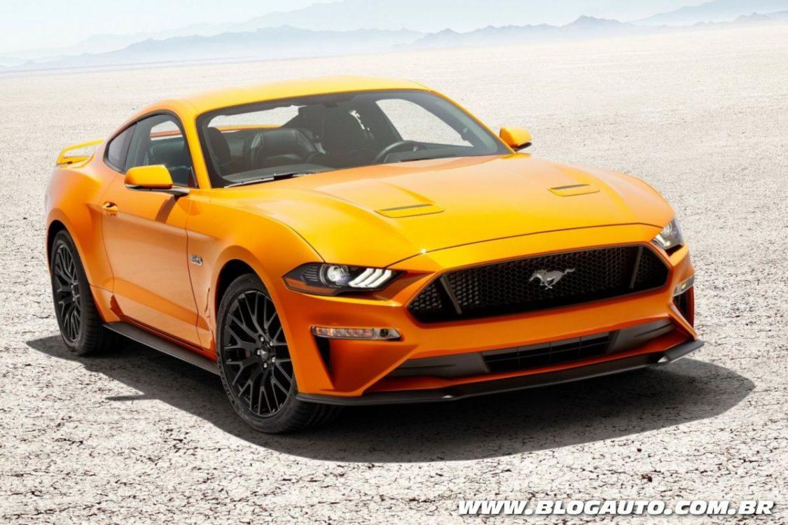 Novo Ford Mustang GT consegue silenciar motor V8