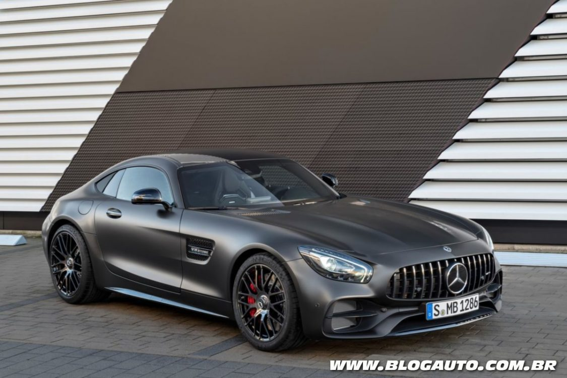 Mercedes-AMG GT 2018 traz novo visual e versão C Coupé
