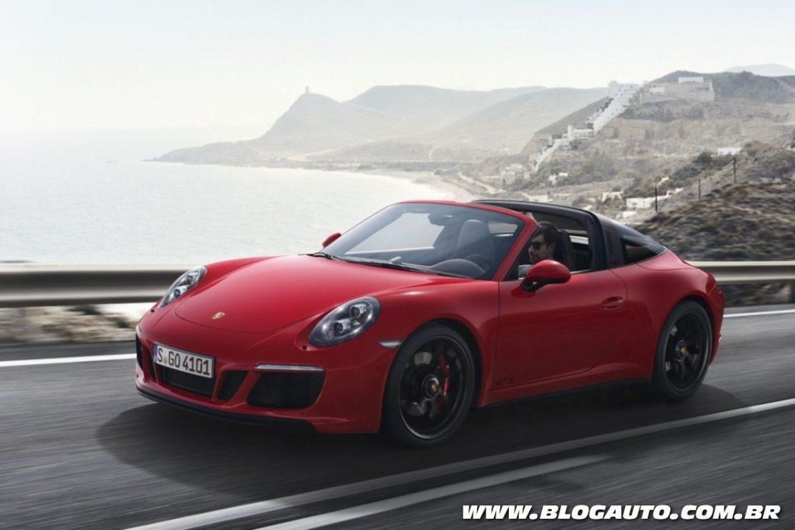Tabela de preços de veículos da Porsche no Brasil