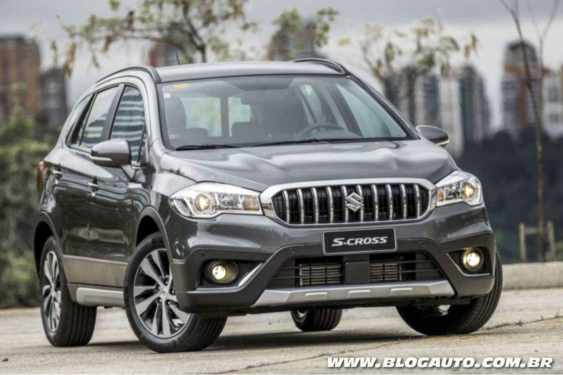 Suzuki S-Cross 2017 adota novo visual e motor turbo