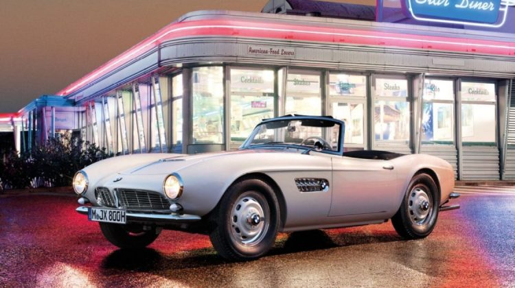 BMW 507 de Elvis Presley após ser restaurado