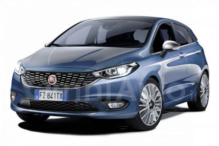 Novo Fiat X6H deverá seguir os traços do novo Tipo vendido na Europa