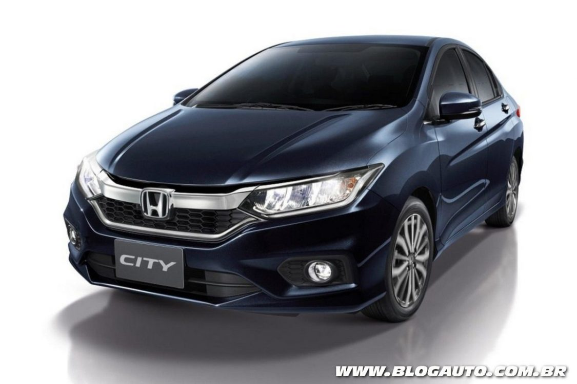Honda City 2018 estreia com visual inspirado no Civic