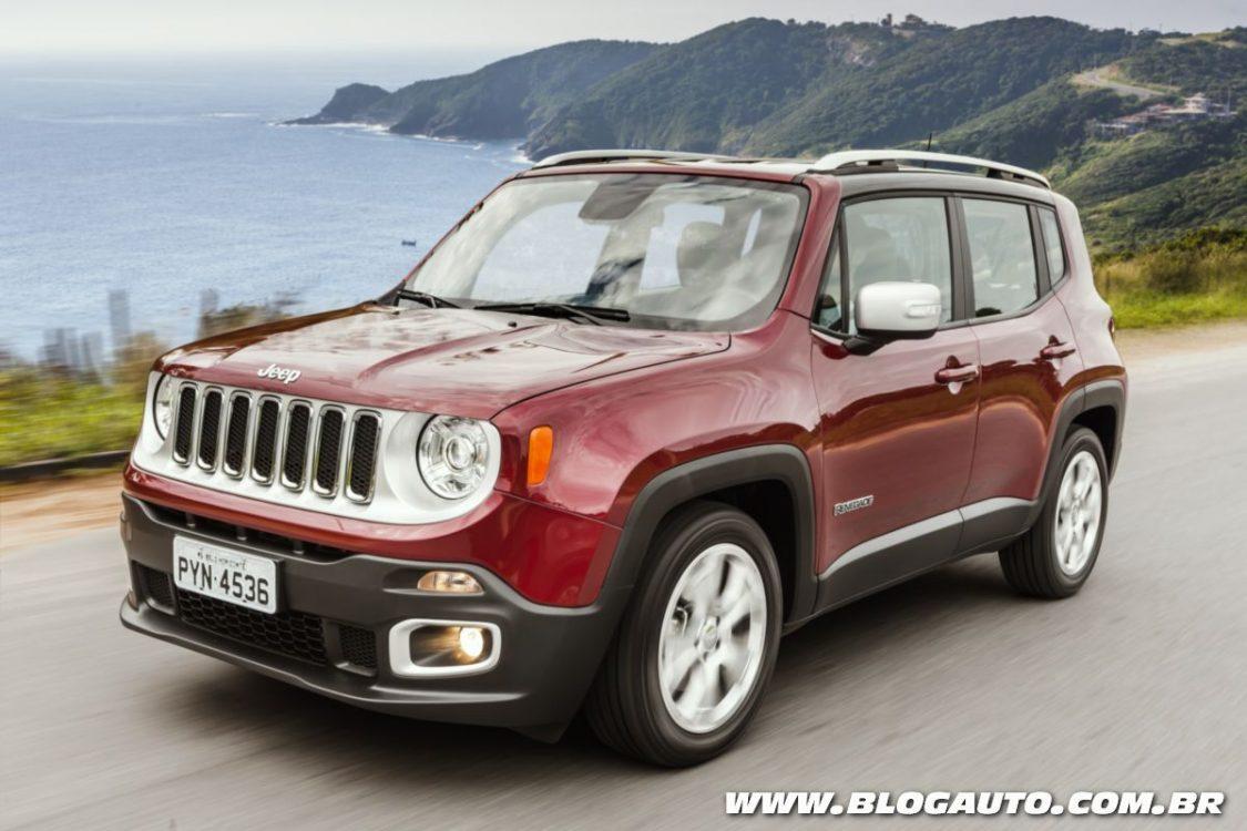 Jeep Renegade 2017 ganha motor flex mais eficiente