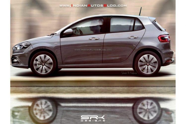 Outra projeção mostra o novo Fiat X6H de lateral