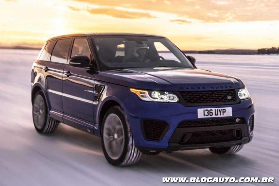 Range Rover Sport SVR é testado em diversos terrenos