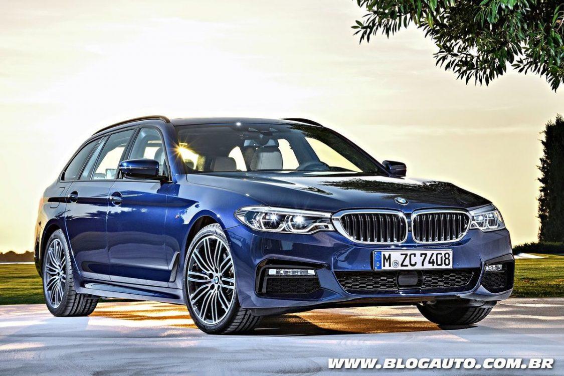 BMW Série 5 Touring e M4 são anunciados para Genebra