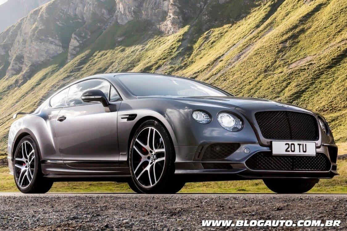 Bentley tem oficina autorizada no Brasil