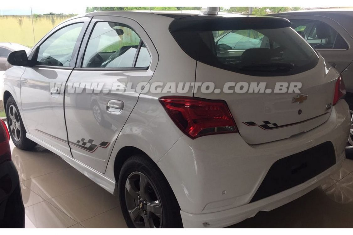 Exclusivo! Revelamos o novo Chevrolet Onix Effect 2017
