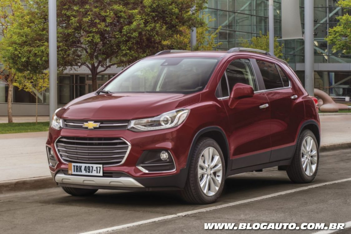 Chevrolet Tracker 2017 muda o visual e ganha motor turbo ...