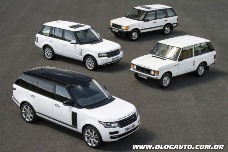 Gerações do Range Rover