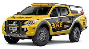 Mitsubishi L200 Triton Sport para a CET de SP
