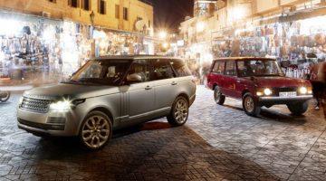 Primeira e atual geração do Range Rover