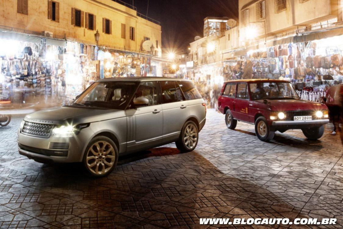Land Rover celebra os 48 anos do Range Rover