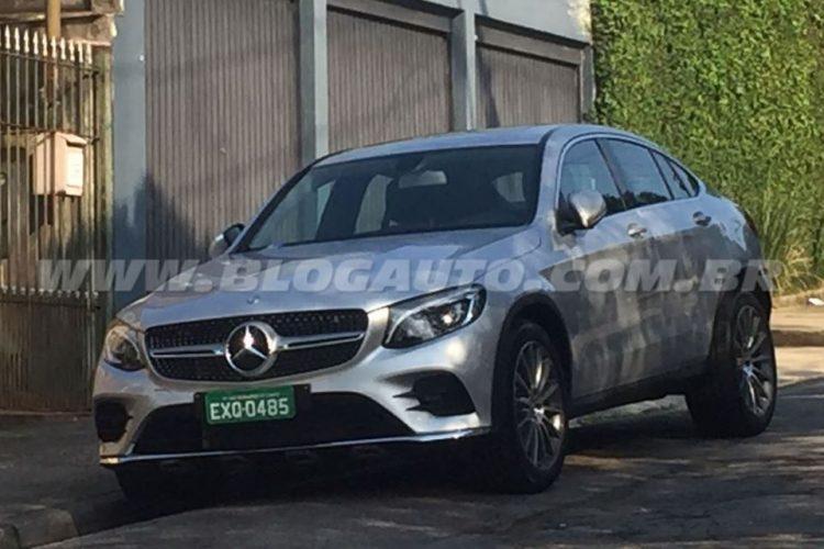 Flagra Mercedes-Benz GLC Coupé no Brasil