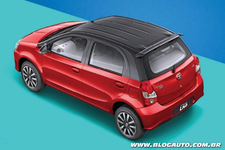 Toyota Etios Liva bicolor