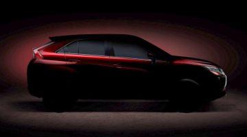 Teaser do novo crossover que vai substituir o Mitsubishi ASX