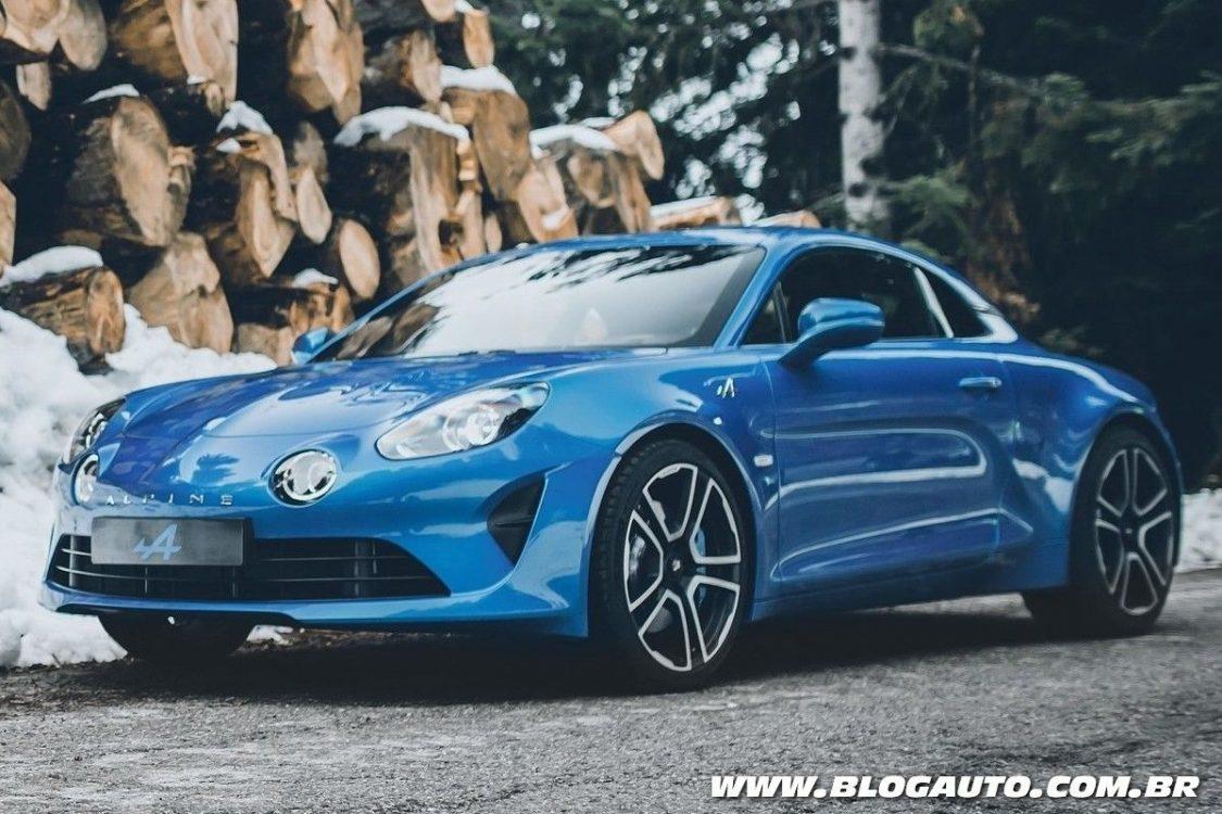 Alpine A110 2018 marca o retorno do esportivo às ruas