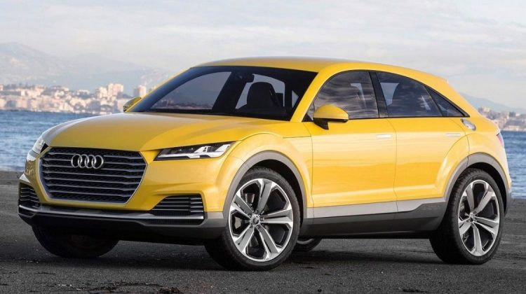 Audi Q4 poderá ser inspirado no TT Offroad Concept