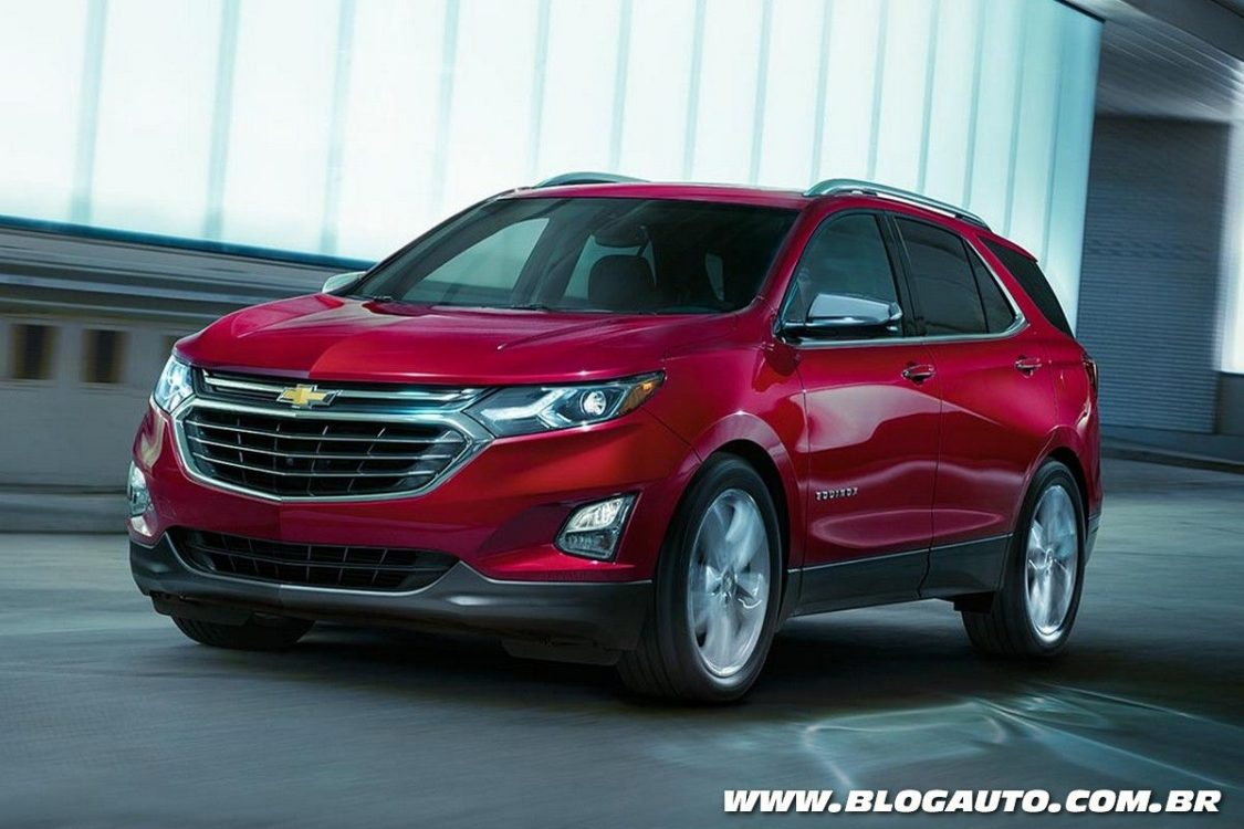 Chevrolet Equinox 2018 será lançado para substituir o Captiva