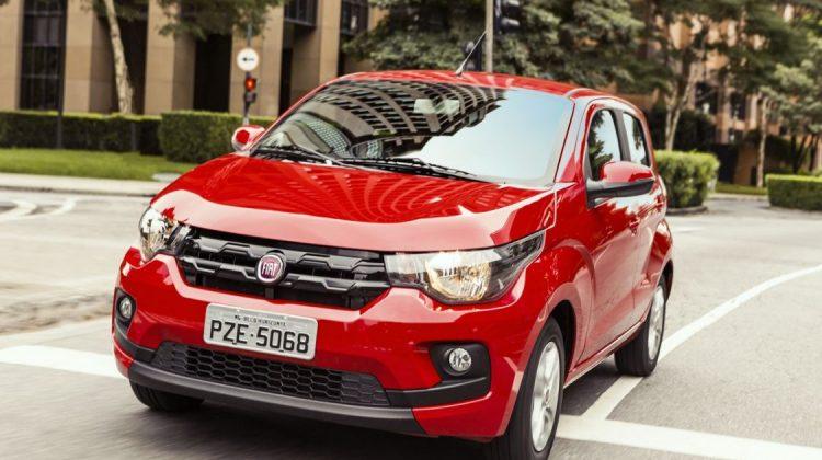 Fiat Mobi 2018 na versão Drive GSR