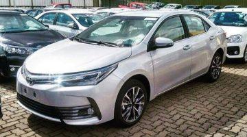 Flagra do novo Toyota Corolla 2018 no Brasil