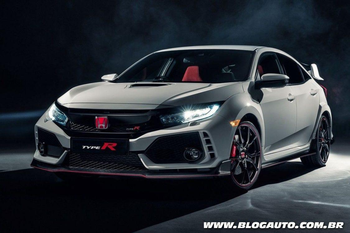 Honda Civic Type R 2018 estreia com 320 cv em Genebra