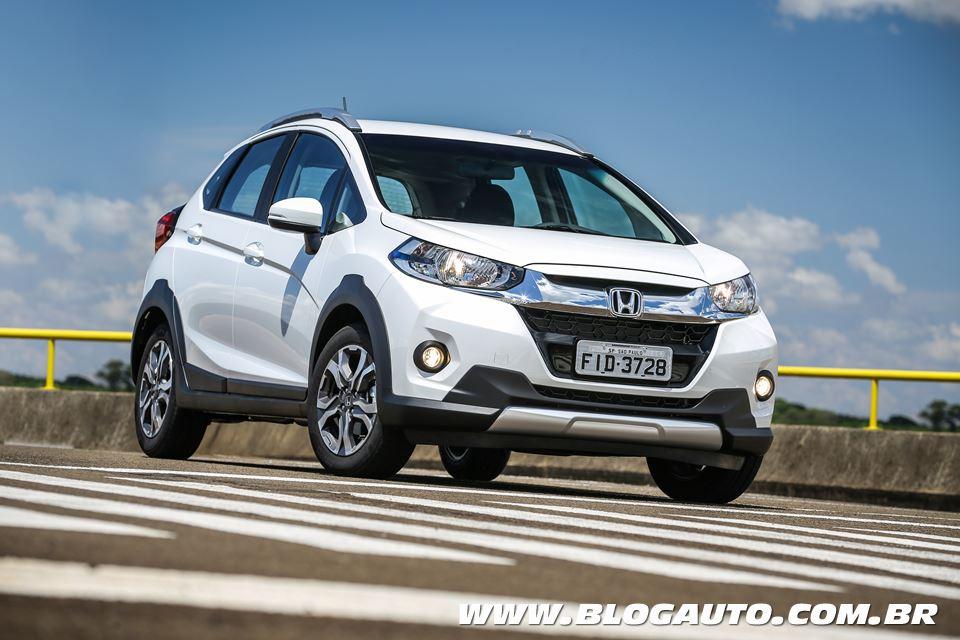 Honda WR-V vende mais que Captur e Tracker em março